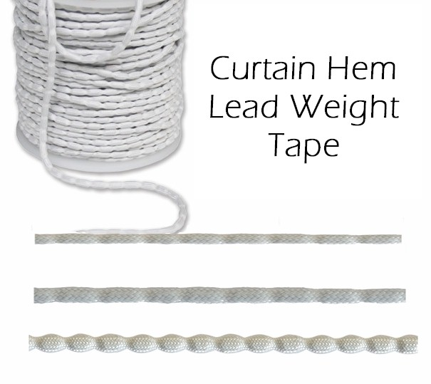 Hem Tape 100gm Curtain Lead Weight Per Metre
